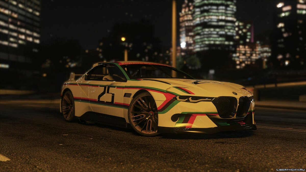 BMW 3.0 CSL Hommage R Concept [Add-On] 1.1 для GTA 5 - скриншот #3
