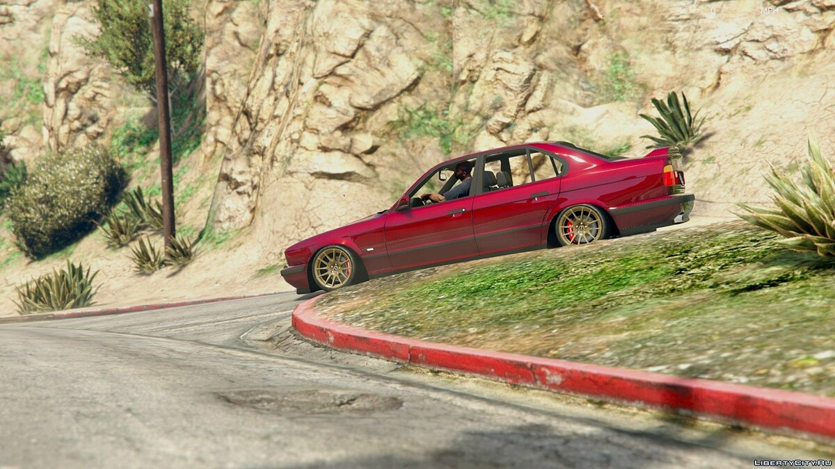 [Cambered] BMW M5 E34 [Add-On] 1.0 для GTA 5 - скриншот #5