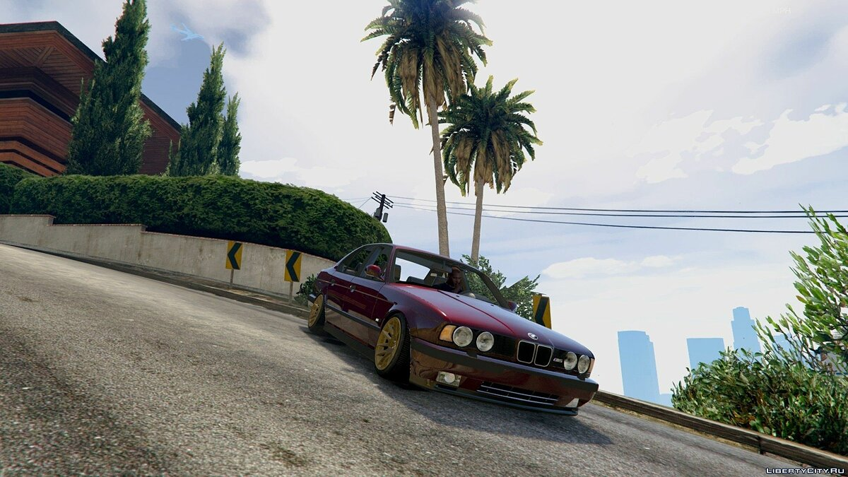 [Cambered] BMW M5 E34 [Add-On] 1.0 для GTA 5 - скриншот #6