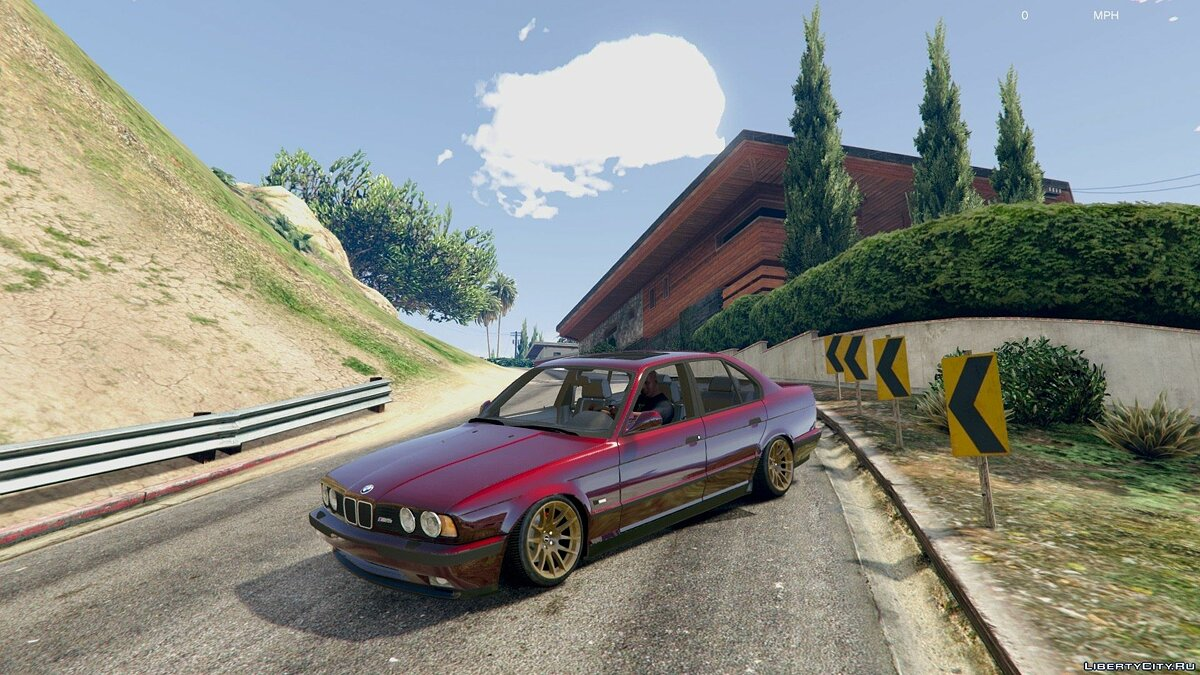 [Cambered] BMW M5 E34 [Add-On] 1.0 для GTA 5 - скриншот #2