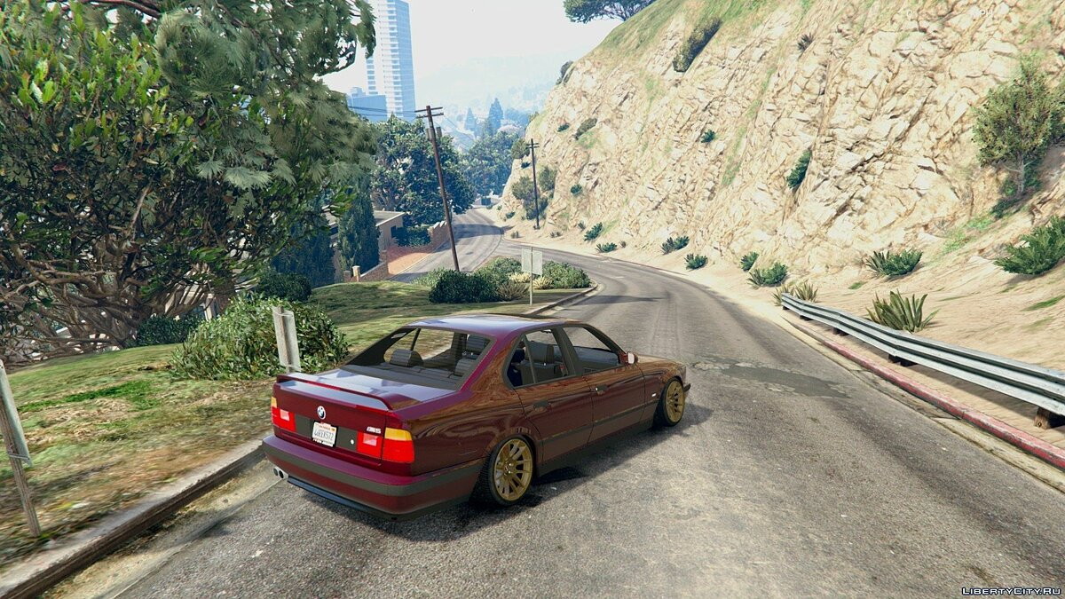 [Cambered] BMW M5 E34 [Add-On] 1.0 для GTA 5 - скриншот #4