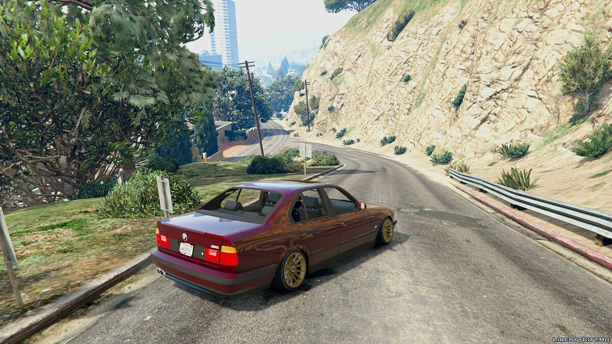 [Cambered] BMW M5 E34 [Add-On] 1.0 для GTA 5 - скриншот #3