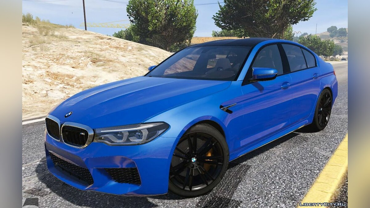 Машина BMW 2018 BMW M5 (F90) [Add-On] для GTA 5