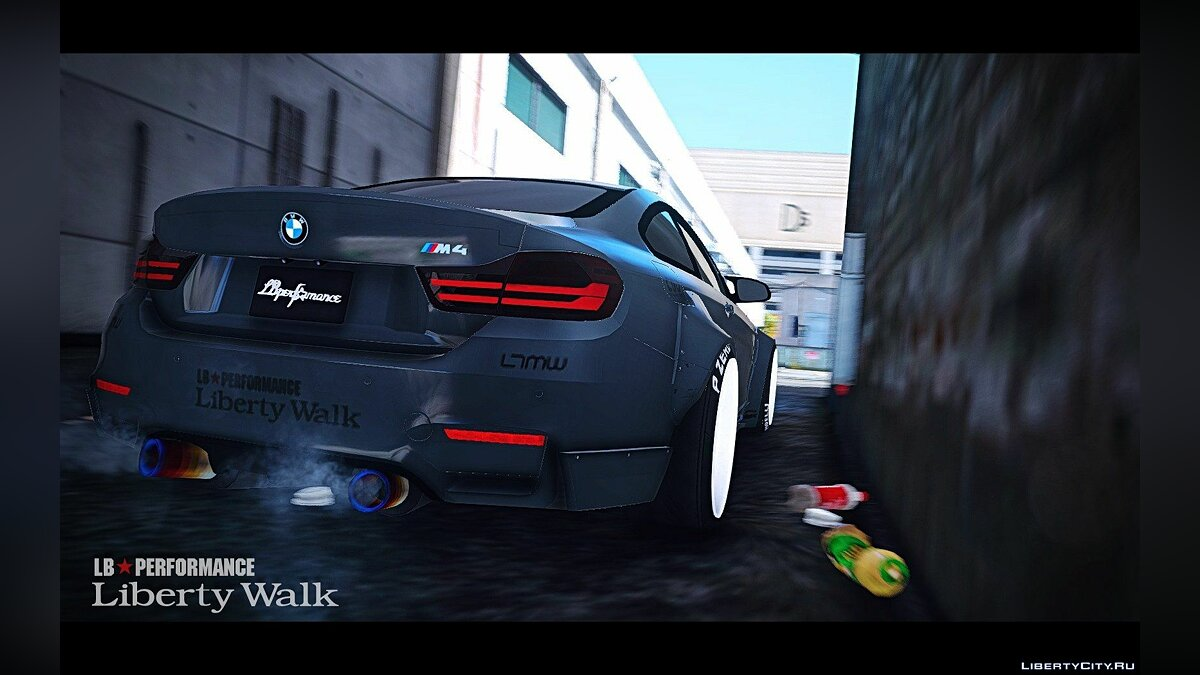 BMW M4 F82 [LibertyWalk] v1.2 для GTA 5