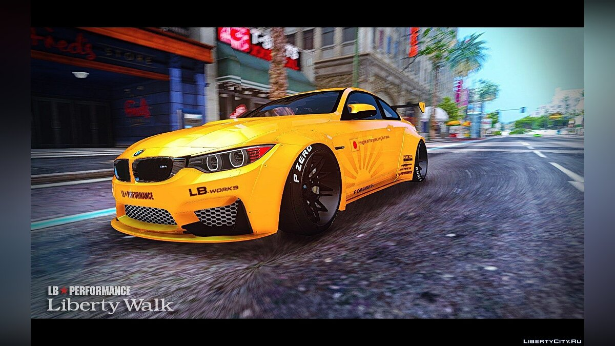 BMW M4 F82 [LibertyWalk] v1.2 для GTA 5 - скриншот #2