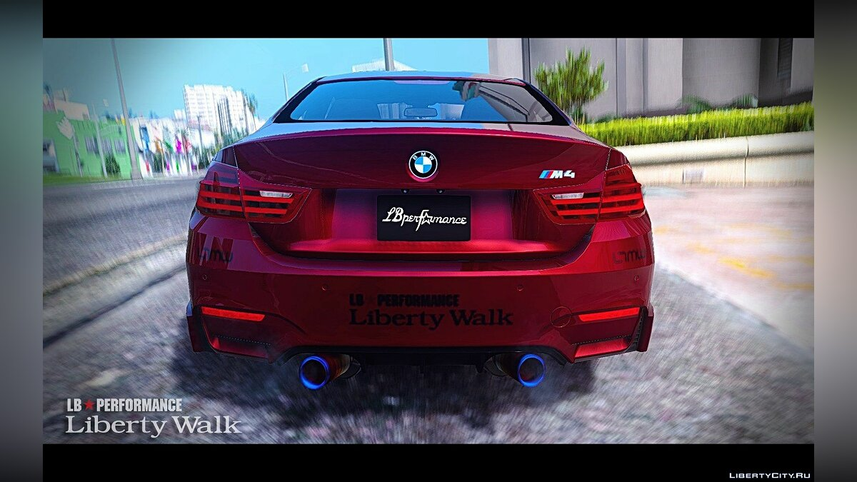 BMW M4 F82 [LibertyWalk] v1.2 для GTA 5 - скриншот #4