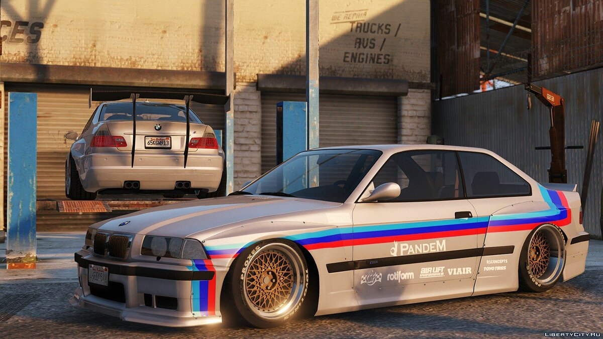 1992 BMW M3 E36 Pandem Rocket Bunny [Add-On / Replace | Tuning] 2.2 для GTA 5