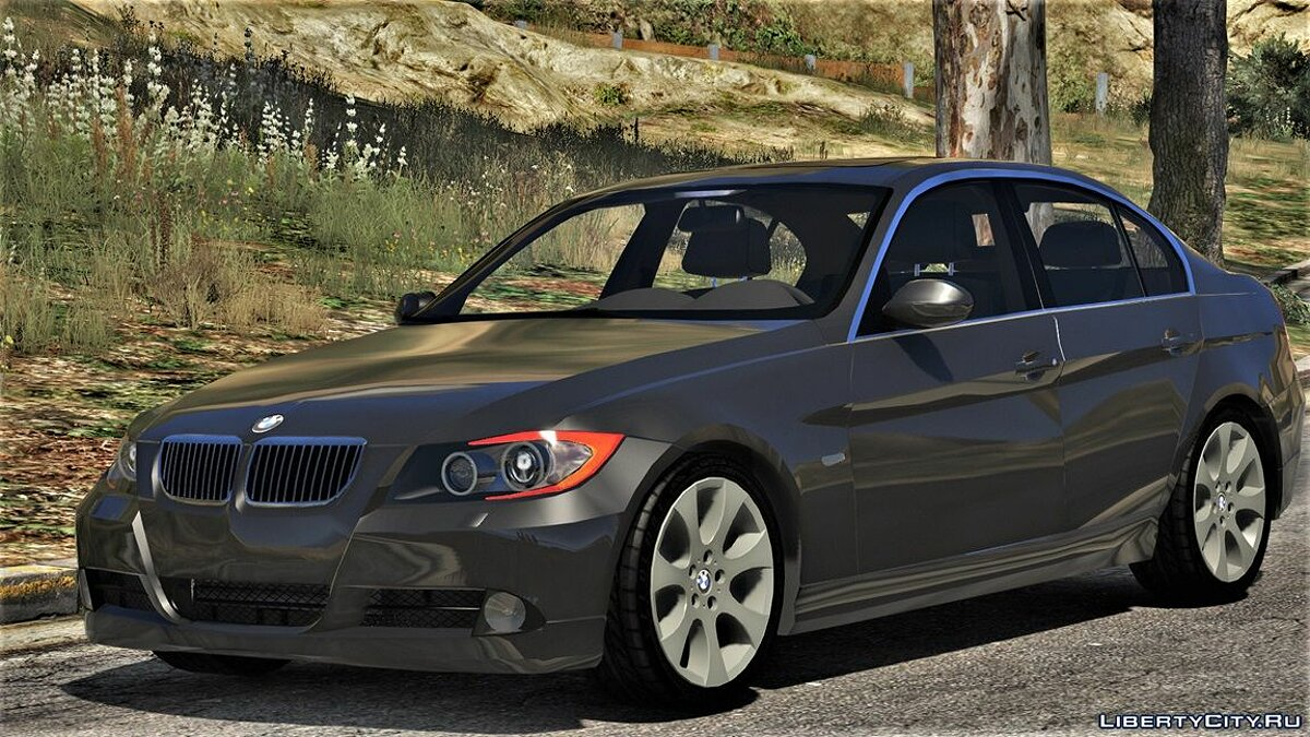 BMW 330i E90 Pre-LCI [Add-On | Replace | Livery | Extras] 2.3.5i для GTA 5 - скриншот #3