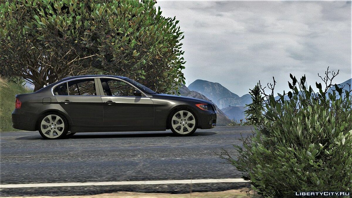 BMW 330i E90 Pre-LCI [Add-On | Replace | Livery | Extras] 2.3.5i для GTA 5 - скриншот #6