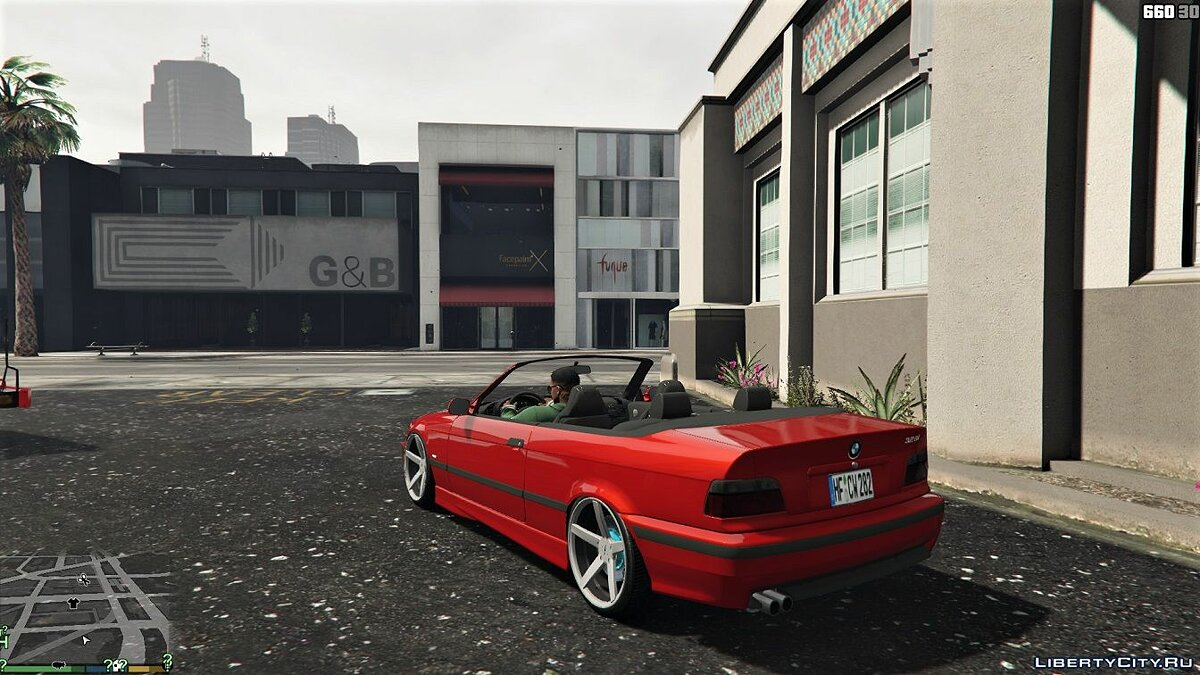 BMW E36 328i M-Sport Cabrio [Replace] 1.6 для GTA 5 - скриншот #5