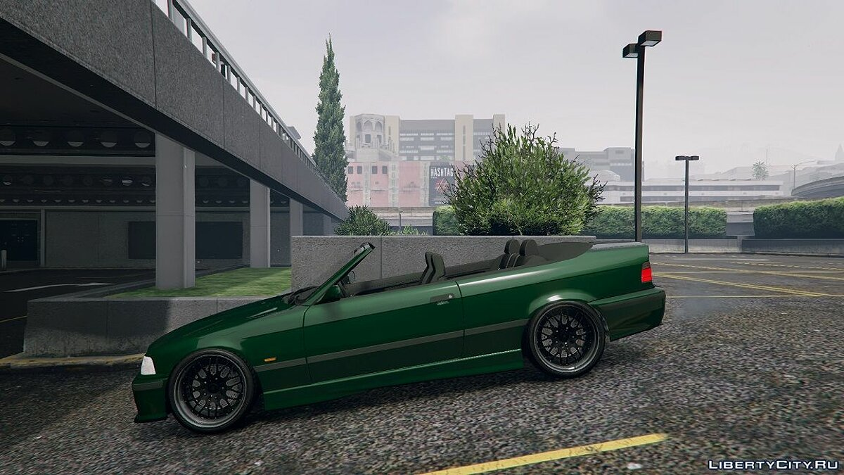 BMW E36 328i M-Sport Cabrio [Replace] 1.6 для GTA 5 - скриншот #7