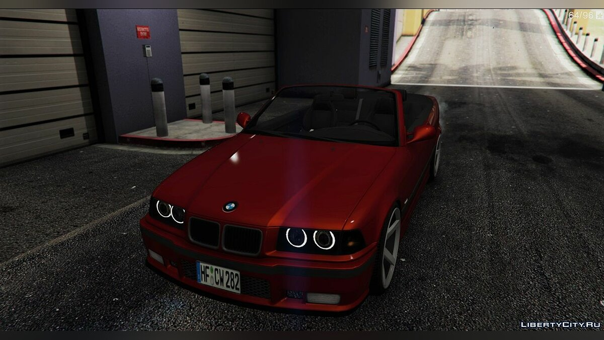 BMW E36 328i M-Sport Cabrio [Replace] 1.6 для GTA 5 - скриншот #8