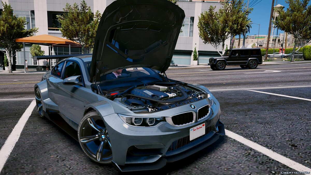 BMW M4 RaijinBodykit [Reworked][Add-On] 3.0 для GTA 5 - скриншот #8