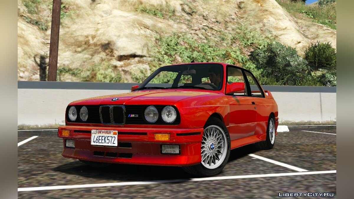 1991 BMW E30 M3 [Replace | Livery] 1.2 для GTA 5