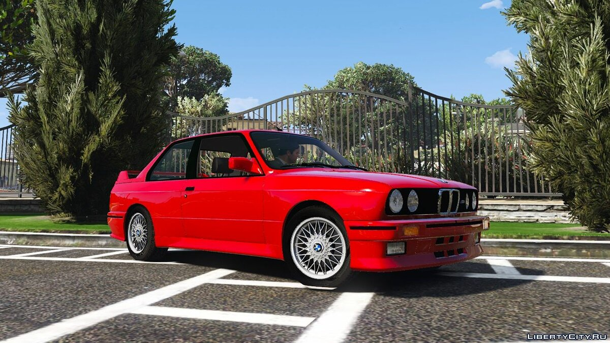 1991 BMW E30 M3 [Replace | Livery] 1.2 для GTA 5 - скриншот #2
