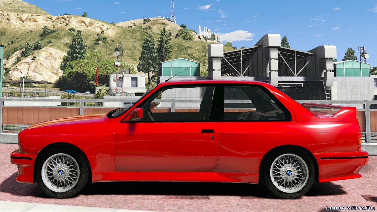 1991 BMW E30 M3 [Replace | Livery] 1.2 для GTA 5 - скриншот #3