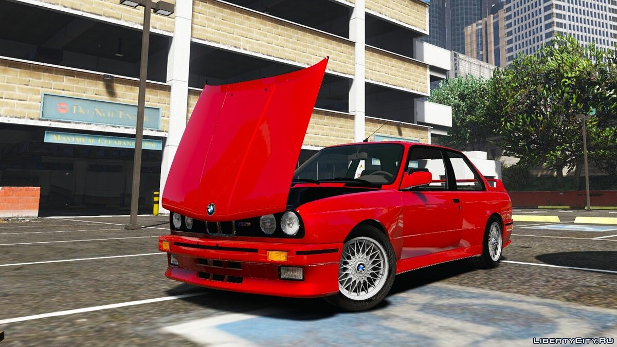 1991 BMW E30 M3 [Replace | Livery] 1.2 для GTA 5 - скриншот #4