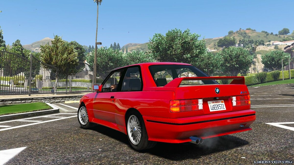 1991 BMW E30 M3 [Replace | Livery] 1.2 для GTA 5 - скриншот #5