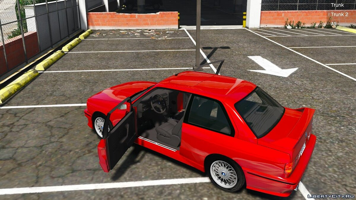 1991 BMW E30 M3 [Replace | Livery] 1.2 для GTA 5 - скриншот #6