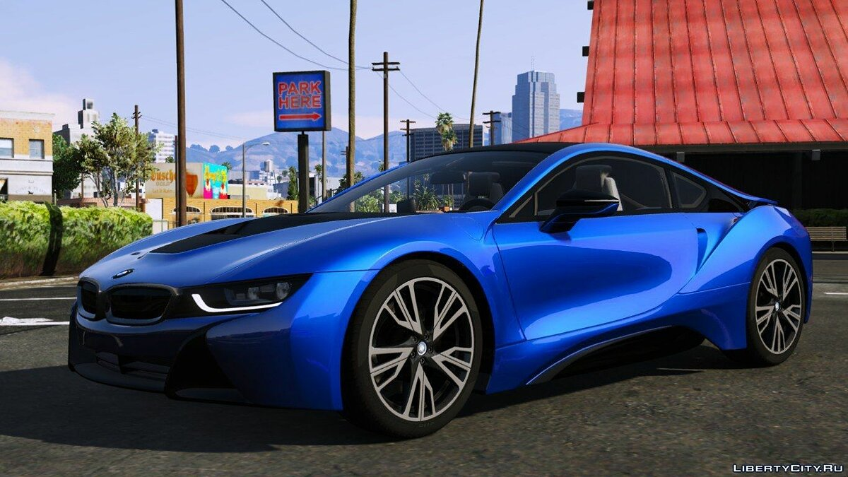 2015 BMW i8 [Add-On] v1.6 для GTA 5 - скриншот #3