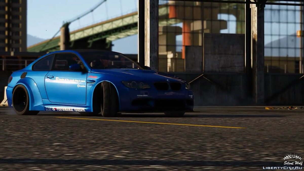 2008 BMW M3 E92 LibertyWalk [HQ|ADDON|LIVERIES|ANALOG/DIGITAL DIALS] 1.0 для GTA 5