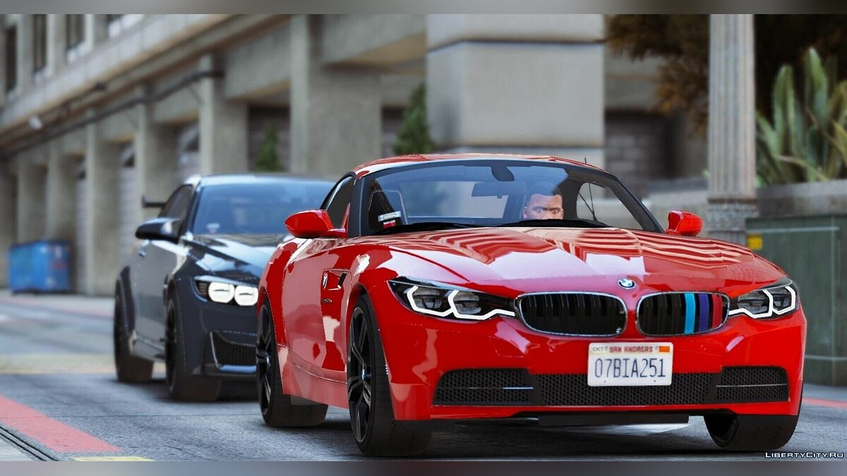 2017 BMW Z4 & 2015 BMW M4 [Add-On] для GTA 5