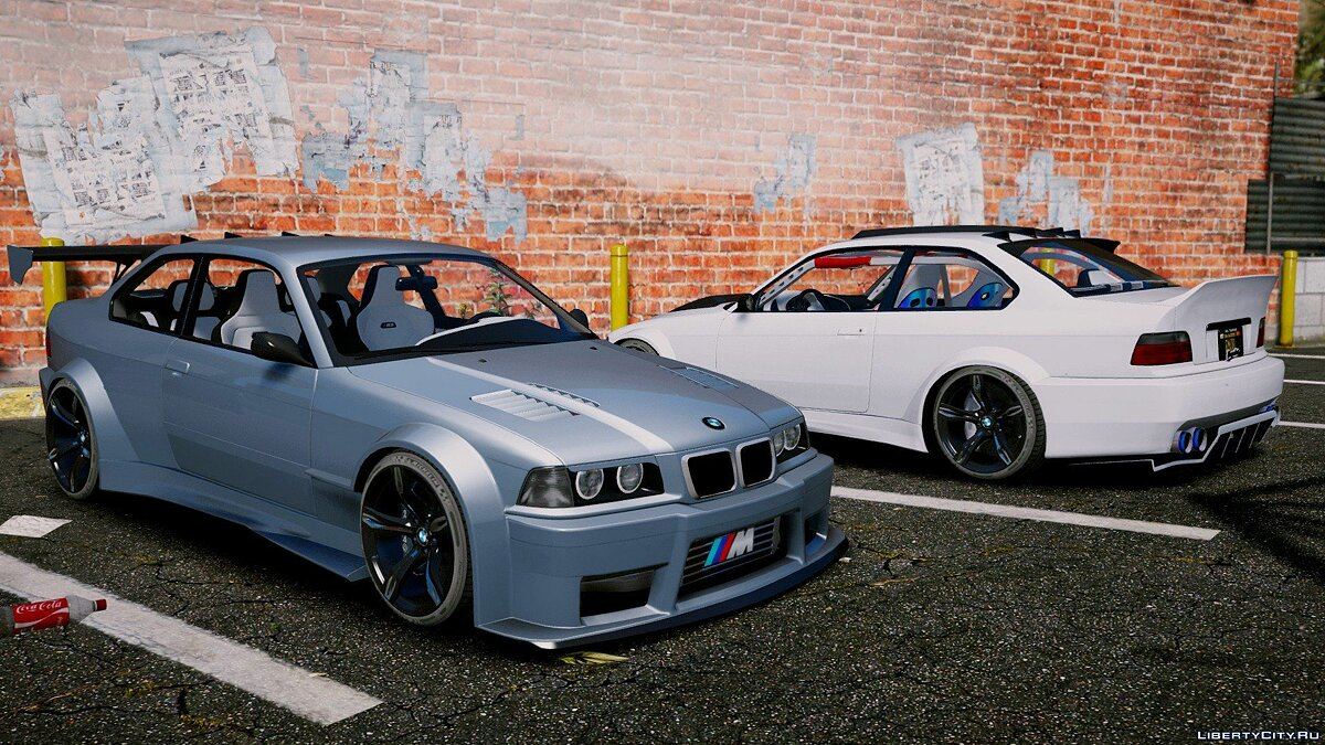 BMW M3 E36 V8 Biturbo [Add-On | Tuning] 1.2 для GTA 5 - скриншот #11