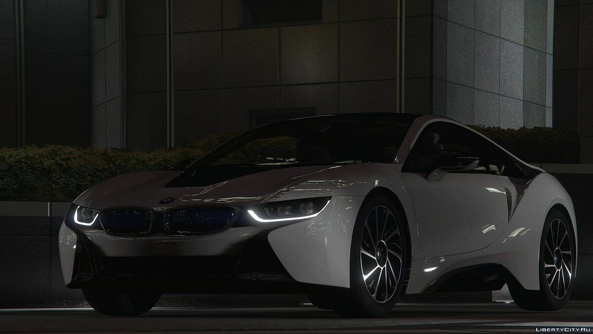 2015 BMW i8 [Add-On] для GTA 5 - скриншот #3