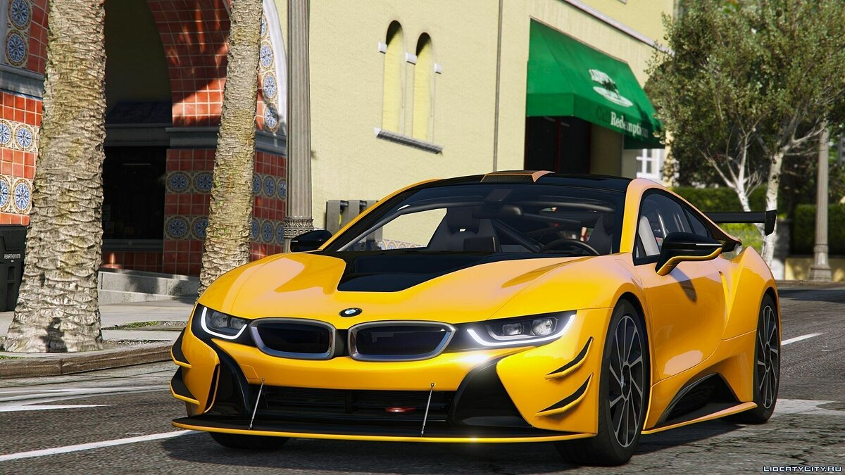 2015 BMW i8 [Add-On] для GTA 5 - скриншот #5