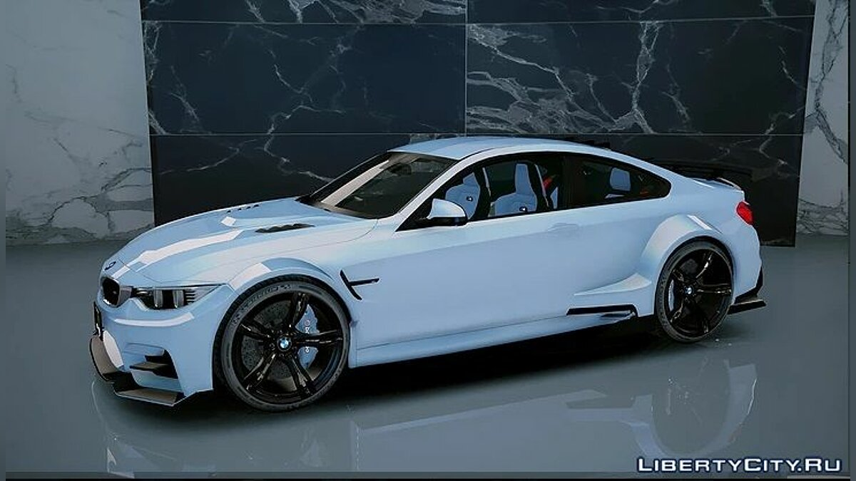 BMW M4 GTS Liberty Walk [Add-On/OIV] 1.0 для GTA 5 - скриншот #2