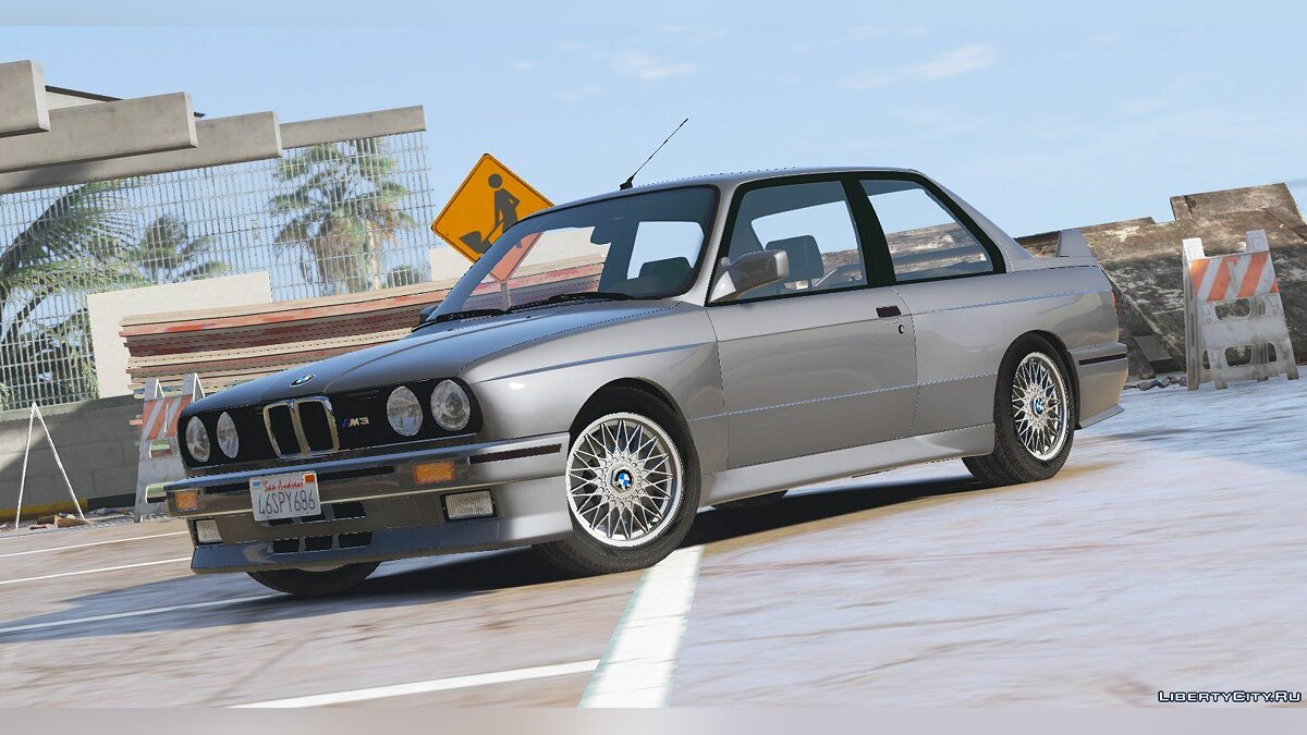 Машина BMW 1991 BMW E30 M3 [Add-On / Replace | Livery] 1.8 для GTA 5