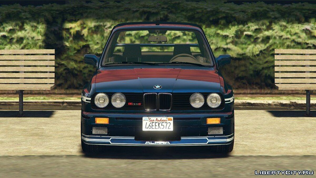 1989 Alpina B6 3.5s [Add-On / Replace | Livery] (BMW E30) 1.0 для GTA 5