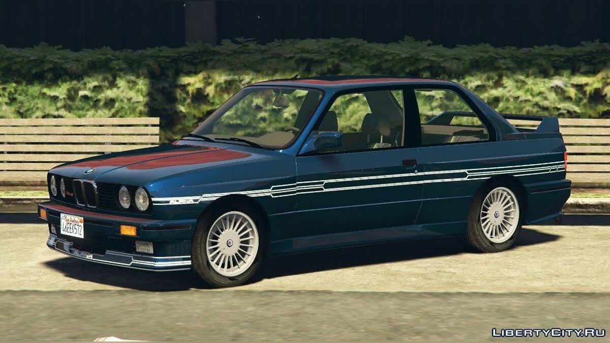 1989 Alpina B6 3.5s [Add-On / Replace | Livery] (BMW E30) 1.0 для GTA 5 - скриншот #2