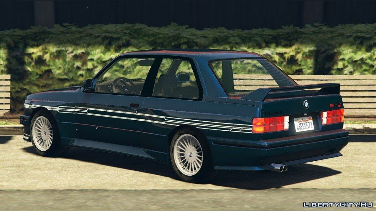 1989 Alpina B6 3.5s [Add-On / Replace | Livery] (BMW E30) 1.0 для GTA 5 - скриншот #3