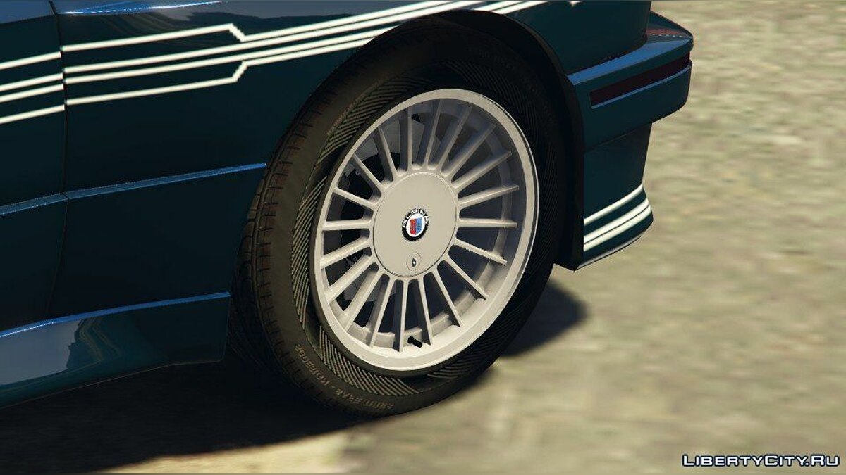 1989 Alpina B6 3.5s [Add-On / Replace | Livery] (BMW E30) 1.0 для GTA 5 - скриншот #4