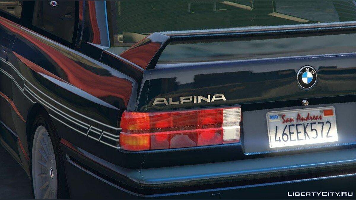 1989 Alpina B6 3.5s [Add-On / Replace | Livery] (BMW E30) 1.0 для GTA 5 - скриншот #6