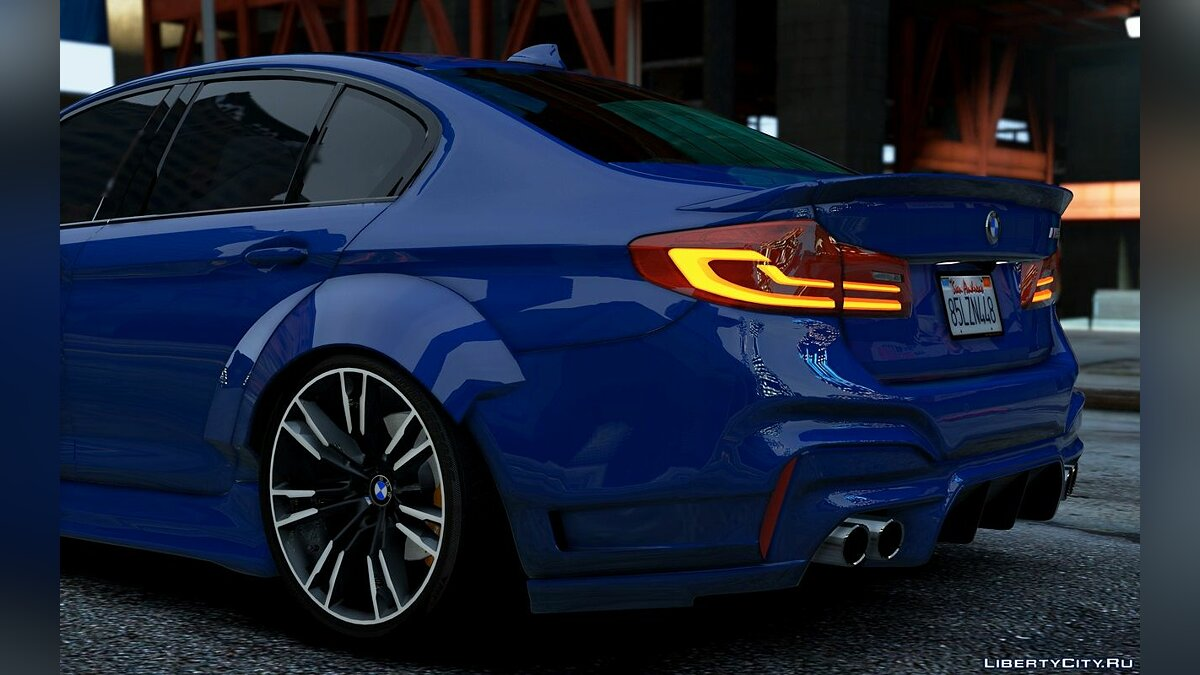 ��ашина BMW BMW M5 F90 2018 [LibertyWalk(&Stock) / Add-on] 2.1 для GTA 5