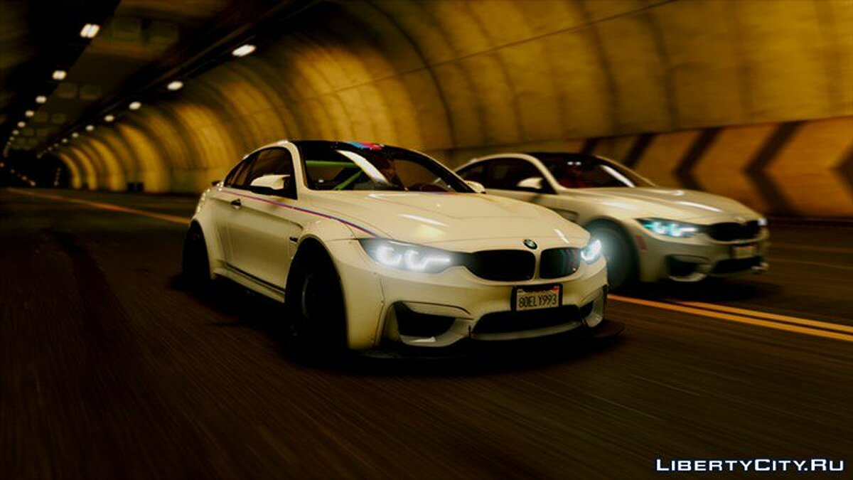 BMW M4 2018 LB [ADD-ON] для GTA 5