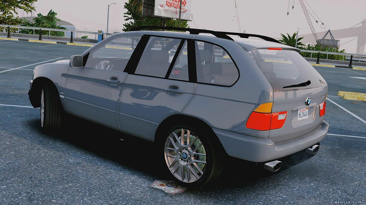 Машина BMW BMW X5 E53 [Replace/HQ] 1.0 для GTA 5