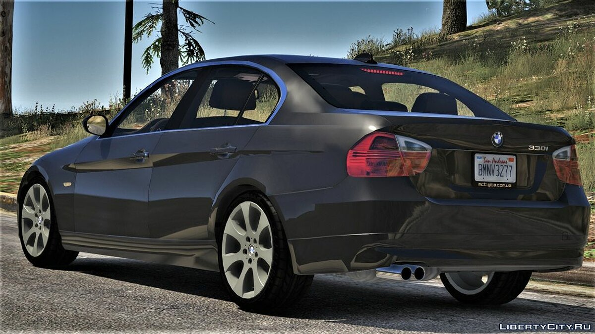 BMW 330i E90 Pre-LCI [Add-On | Replace | Livery | Extras] M2.3.5i для GTA 5 - скриншот #5