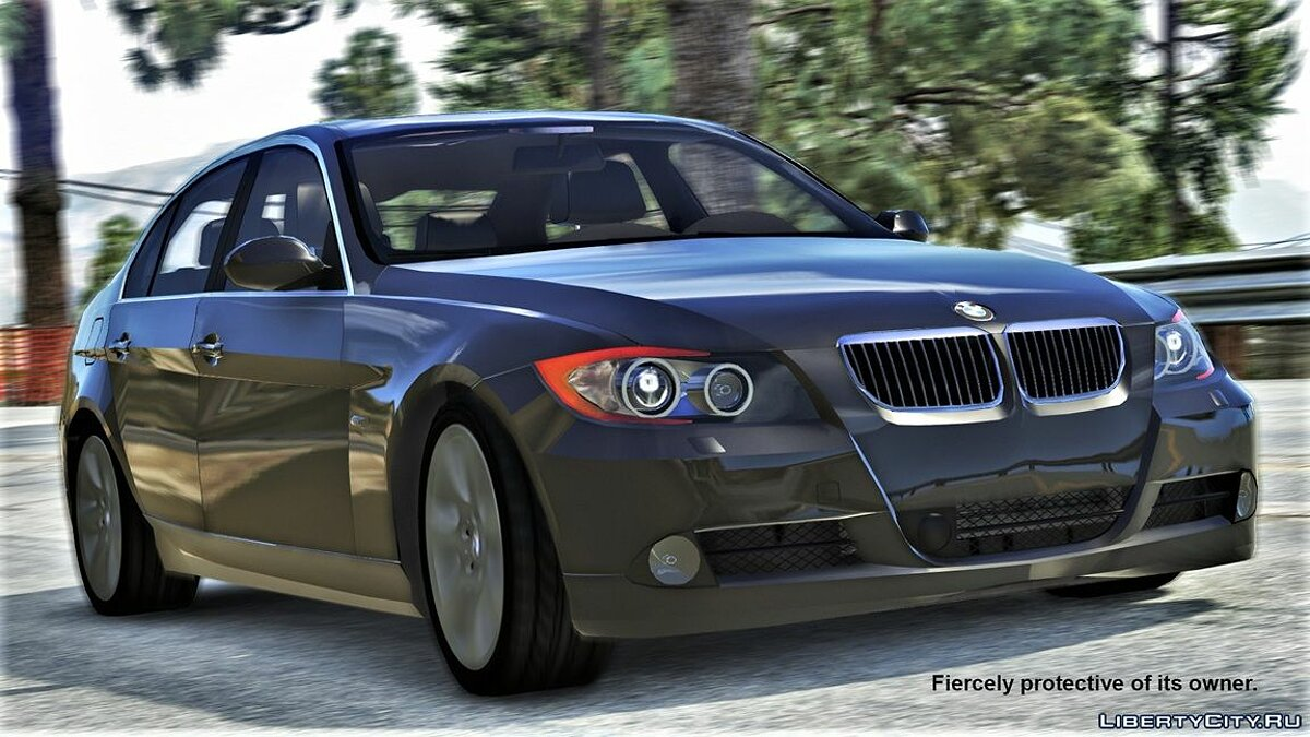 BMW 330i E90 Pre-LCI [Add-On | Replace | Livery | Extras] M2.3.5i для GTA 5 - скриншот #3