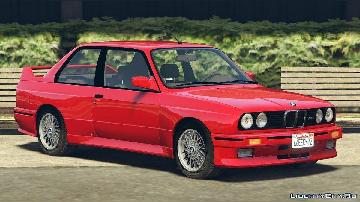 1991 BMW E30 M3 [Add-On / Replace | Livery] 1.4 для GTA 5 - скриншот #3