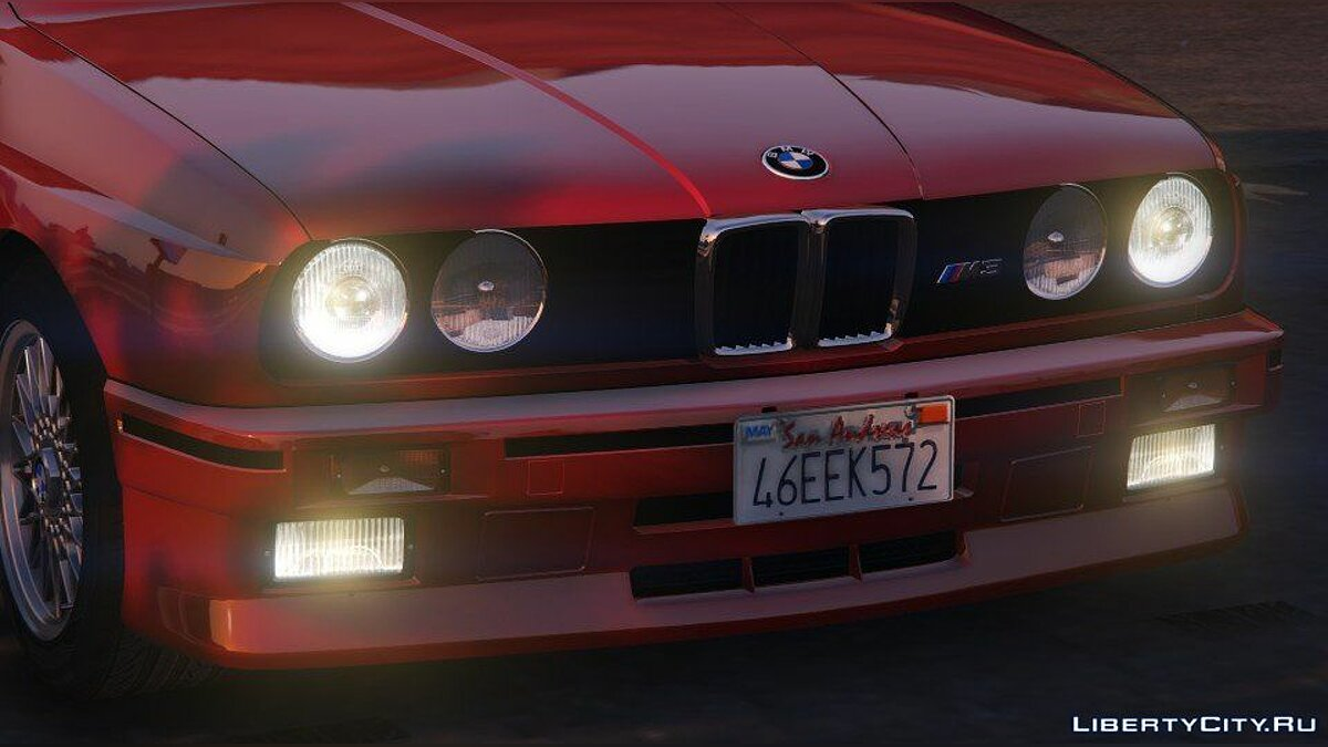 1991 BMW E30 M3 [Add-On / Replace | Livery] 1.4 для GTA 5 - скриншот #9