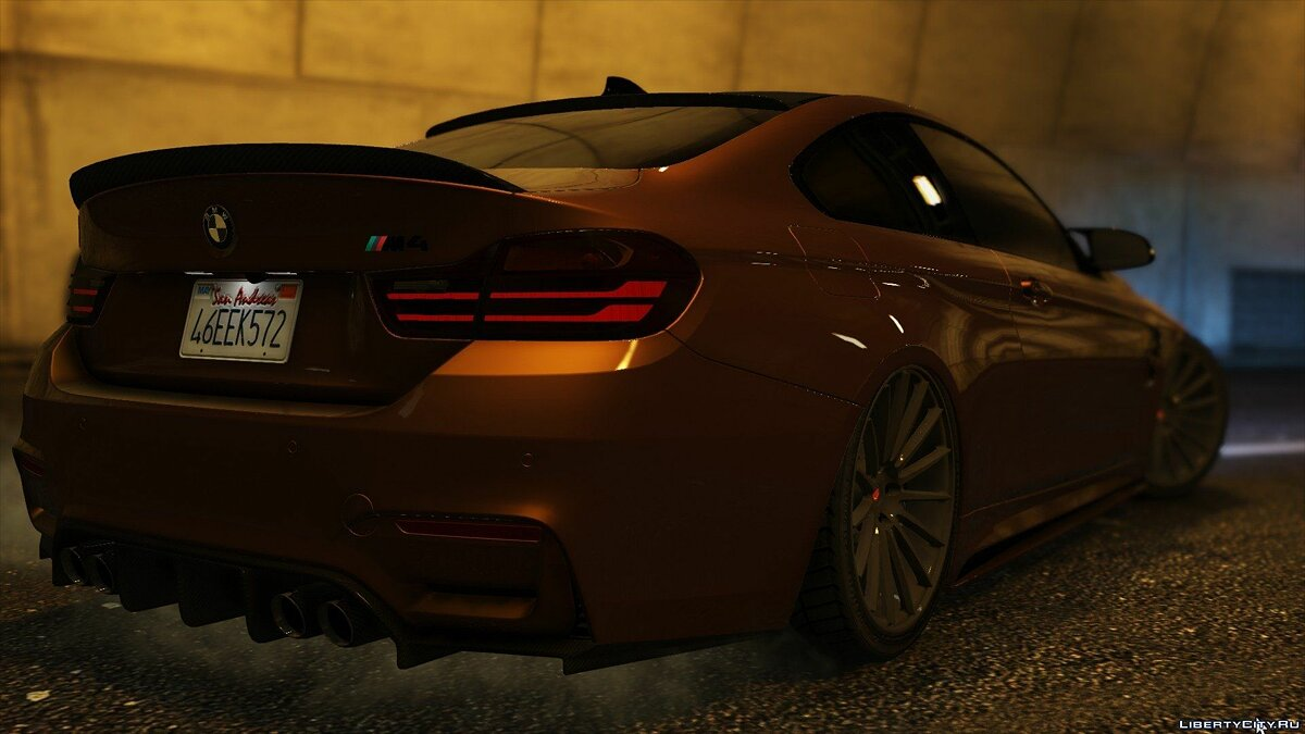 2015 BMW F82 M4 [Add-On | Tuning] 1.0 для GTA 5 - скриншот #2