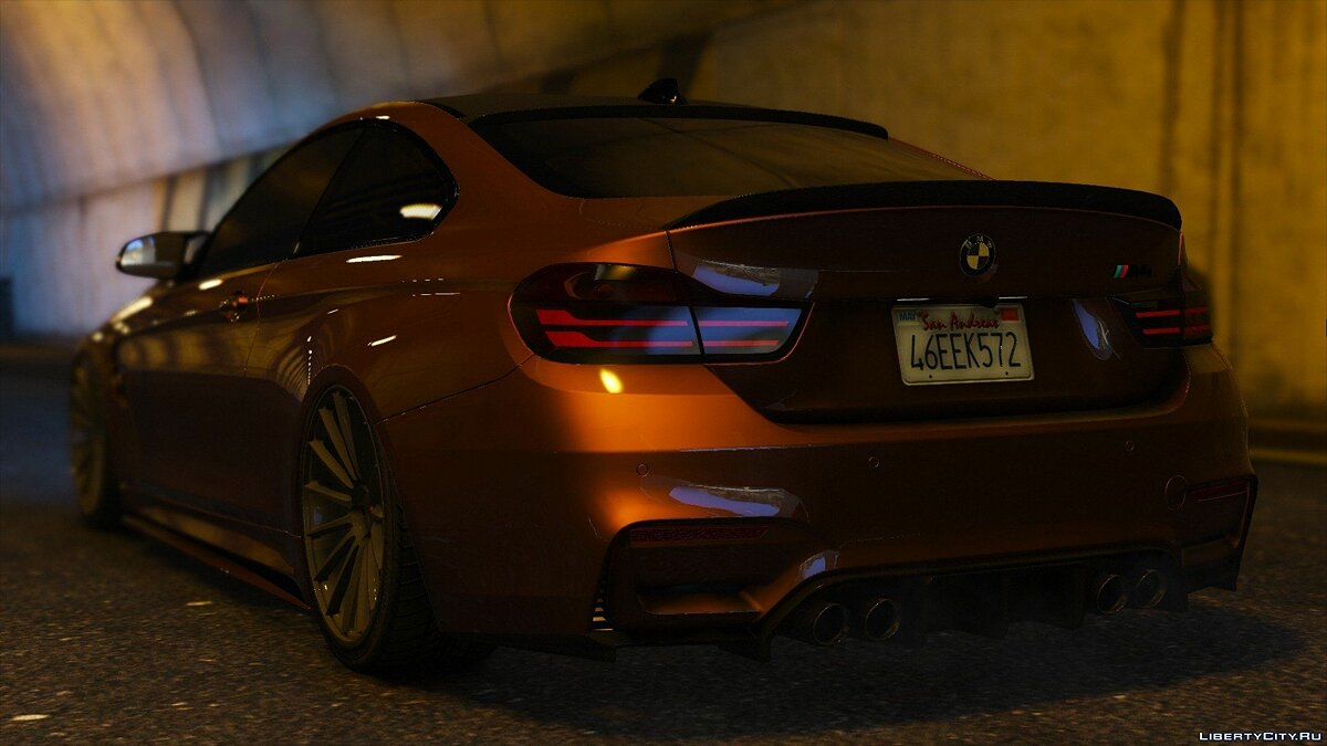 2015 BMW F82 M4 [Add-On | Tuning] 1.0 для GTA 5 - скриншот #10