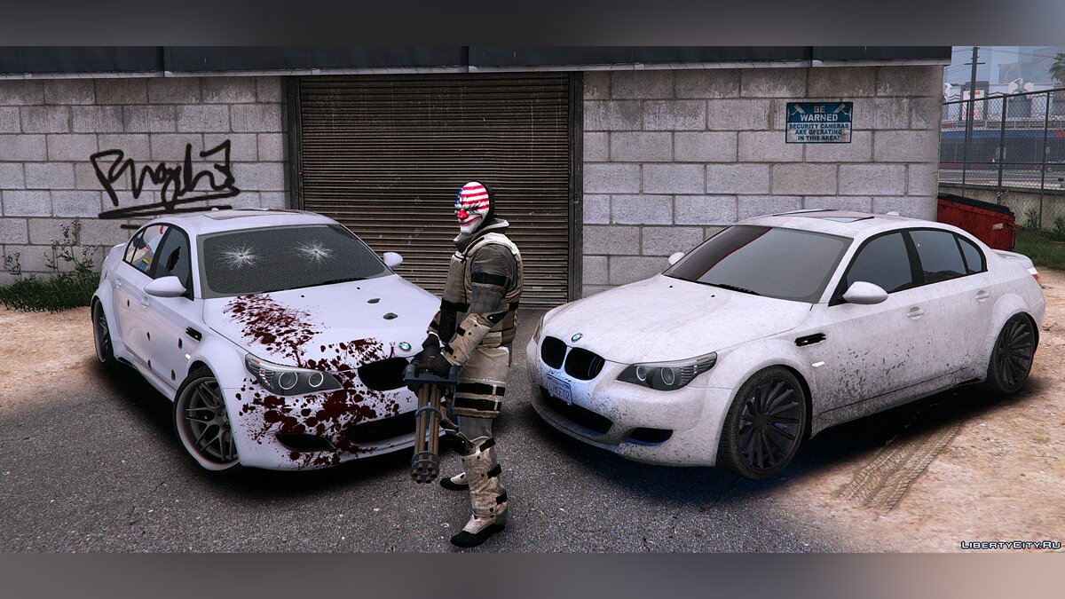 BMW M5 E60 Lumma [Add-On / Replace | Animated] для GTA 5 - скриншот #2