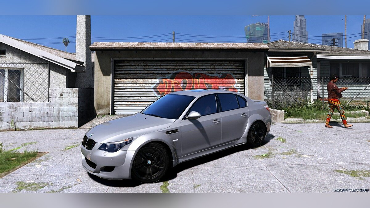 BMW M5 E60 Lumma [Add-On / Replace | Animated] для GTA 5 - скриншот #5