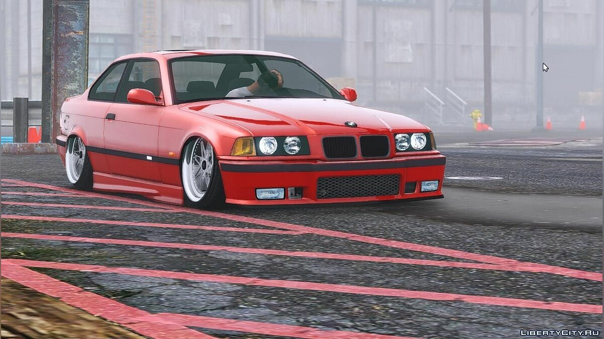 BMW E36 [Add-On] 1.2 для GTA 5