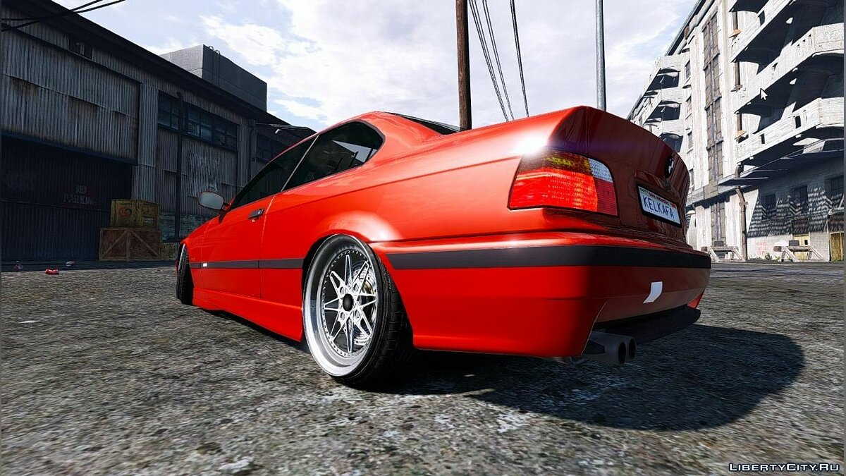 BMW E36 [Add-On] 1.2 для GTA 5 - скриншот #2