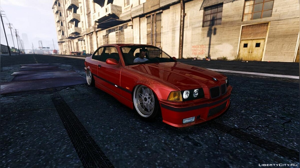 BMW E36 [Add-On] 1.2 для GTA 5 - скриншот #3